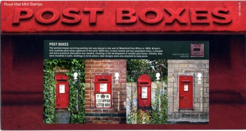 2009 Post Boxes MS pack