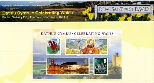 2009 Celebrating Wales MS pack