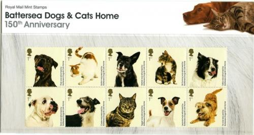 2010 Battersea Cats & Dogs pack