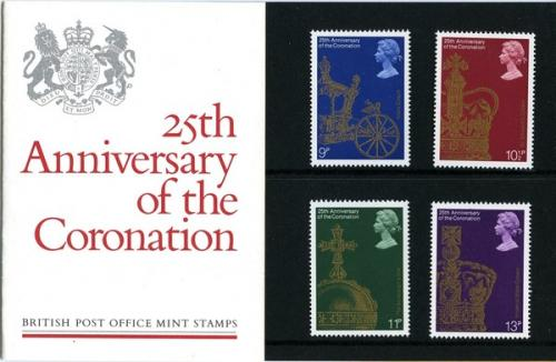 1978 Coronation Anniversary pack