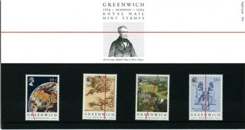 1984 Greenwich Meridian pack