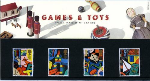 1989 Games & Toys pack