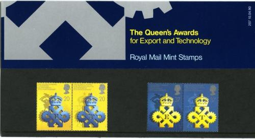 1990 Queens Awards pack