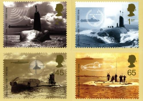 PHQ230 2001 Royal Navy Submarines