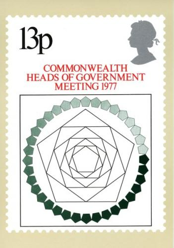 PHQ23  1977 Commonwealth Heads of Government Meeting