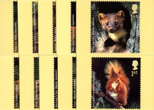 PHQ268 2004 Woodland Animals