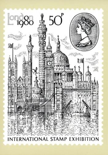 PHQ43 1980 London International Stamp Exhibition