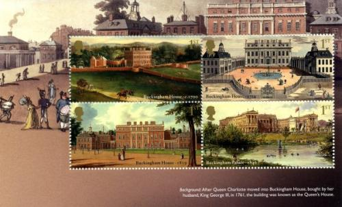 SG 3589a  2014 Buckingham Palace in 1761