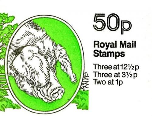 SG: FB24b 50p Old Spot Pig 36p corrected rate