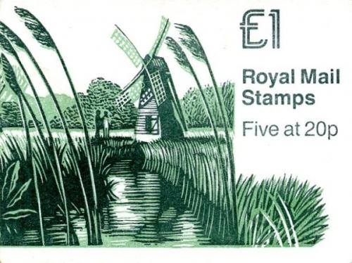 SG: FH18 £1 Mills 1 with matt cover