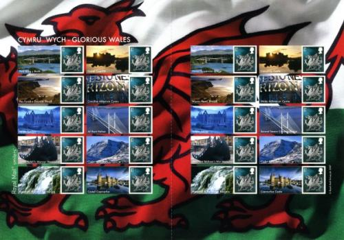 SG: LS37  2007 Glorious Wales