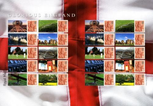 SG: LS38  2007 Glorious England