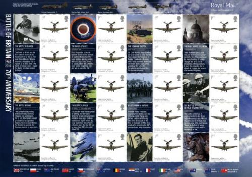 SG: LS74  2010 Battle of Britain 70th Anniversary
