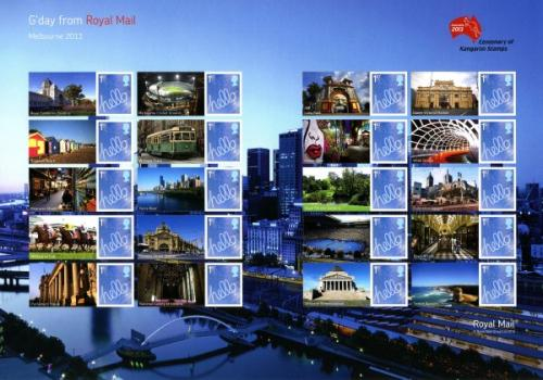 SG: LS86  2013 Melbourne Stamp Exhibition