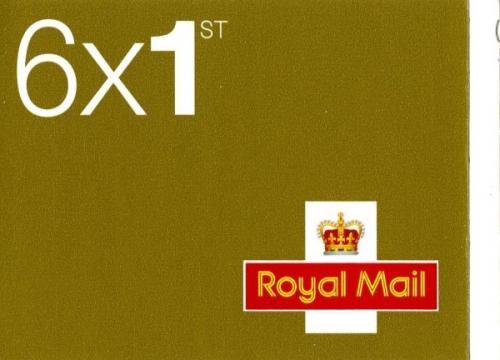 SG: RC1b 6 x 1st (w) on inside cover ' to find the correct postcodes for your mail'