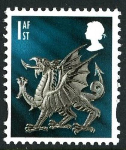 SG W122 1st Welsh Dragon