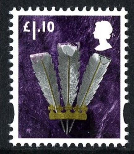 SG W133 £1.10p feathers