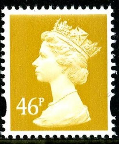 SG Y1722 46p yellow 2 band