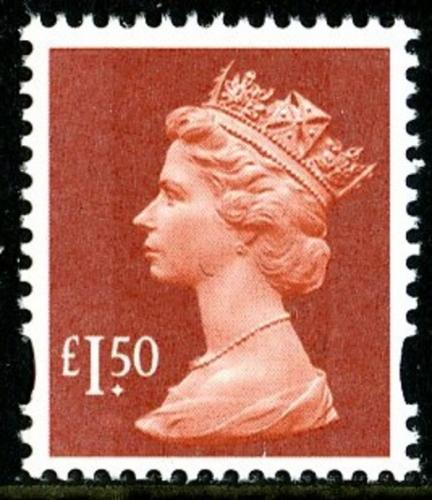 SG Y1746 £1.50p brown red