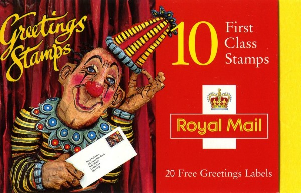 Sg kx7 greetings 1995 art without inscription on right hand yellow tab m4hsunfo