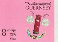 Guernsey Stamp Booklets