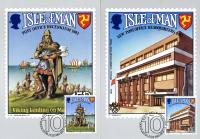 Isle of Man Stamp Cards First day Issue