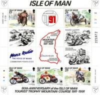 Isle of Man miniature sheets