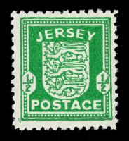 Jersey Stamps 1941 - 1944
