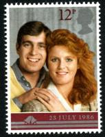 1986 Royal Wedding 12p
