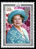 1990 Queen Mother 20p