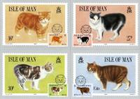 1988 Manx Cats Cards