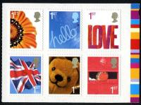 2005 Smilers Booklet Stamps (SG2567-2572)