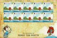2010 45p Europa Children's Books Stamp Sheet