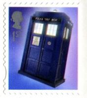 2013 Doctor Who Tardis Self-adhesive (SG3449)
