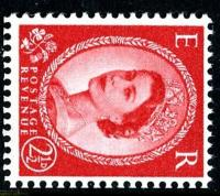 SG 574g 2½d type2 sideways