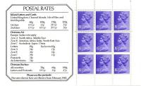 x907m Stanley Gibbons rates