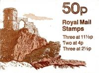 SG: FB18a 50p Mow Cop Castle with 12½p right hand