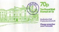 SG: FD7a 70p Kedleston Hall LM