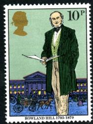1979 Rowland Hill 10p