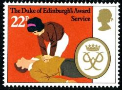 1981 Duke Edinburgh 22p