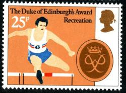 1981 Duke Edinburgh 25p