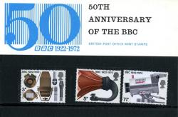 1972 BBC Staff pack