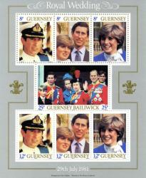 1981 Royal Wedding MS