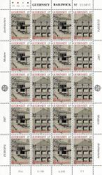 1987 15p Europa Architecture Stamp Sheet