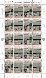1987 22p Europa Architecture Stamp Sheet