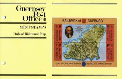 1987 Richmond's Survey miniature sheet pack