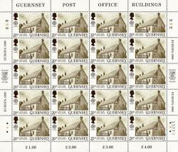 1990 20p Europa Post Office Stamp Sheet