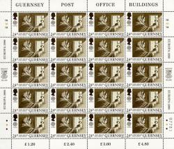 1990 24p Europa Post Office Stamp Sheet