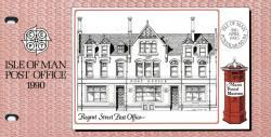 1990 Europa Post Office Buildings pack