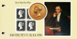 1990 Penny Black miniature sheet pack